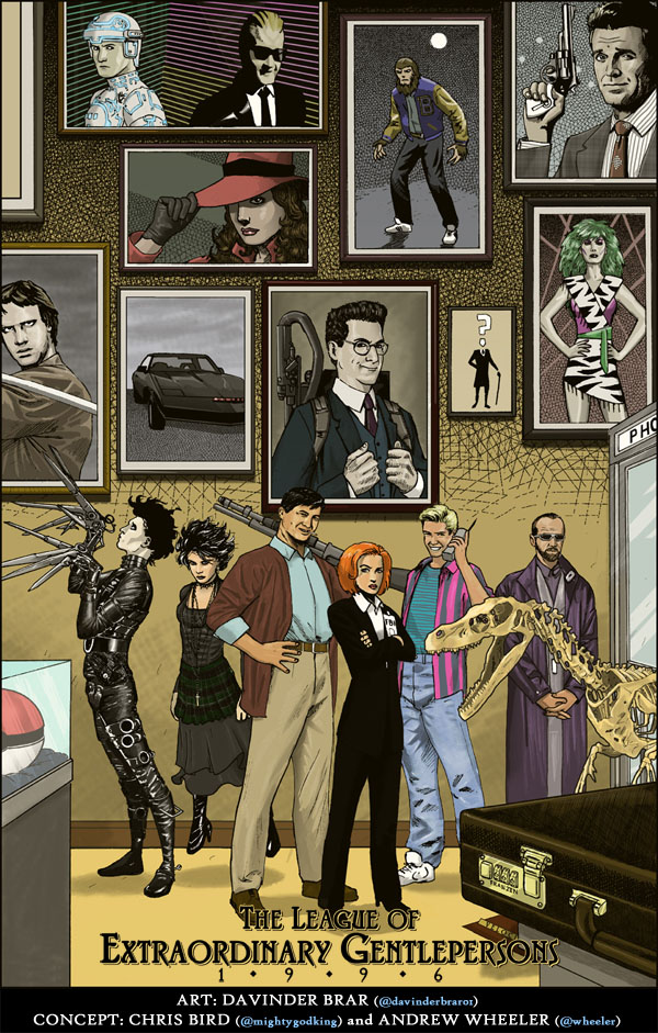 Following Up On The Cliffhanger Ending Of League Extraordinary Gentleman 1988 Gentlepersons 1996