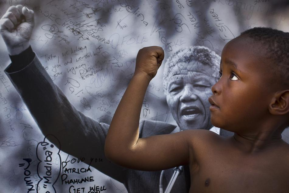 APTOPIX South Africa Mandela