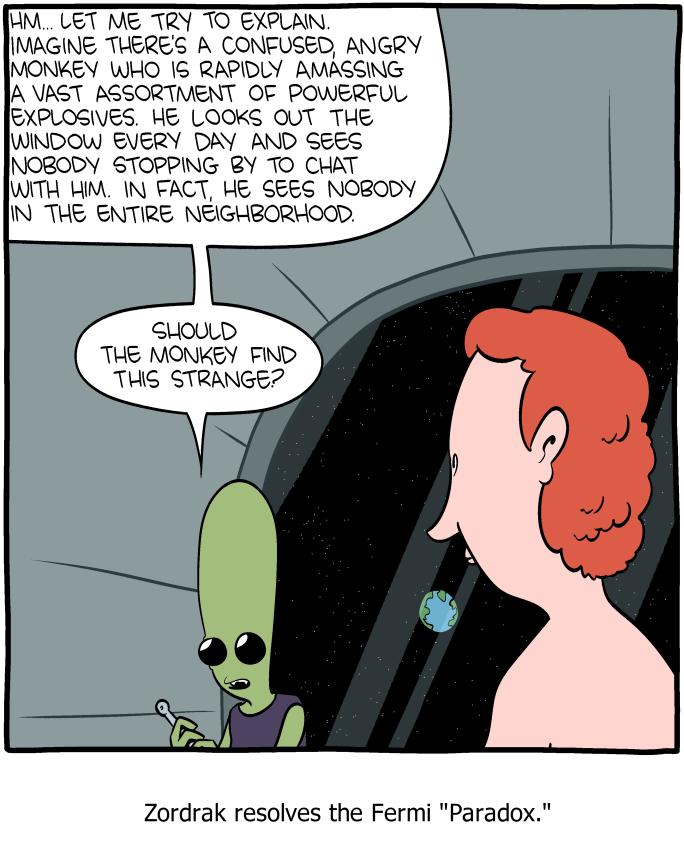 Fermi paradox | Gerry Canavan
